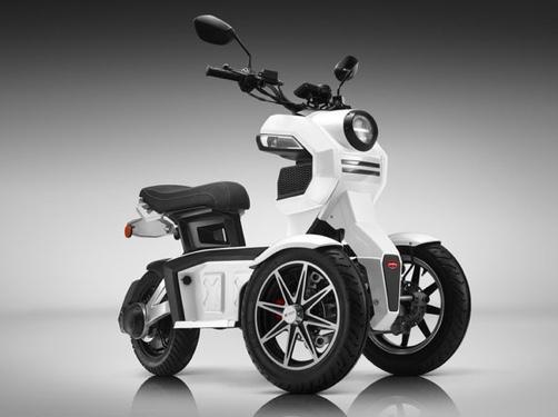 Doohan EV3 iTank 3-Wheeled Electric Scooter ITANK