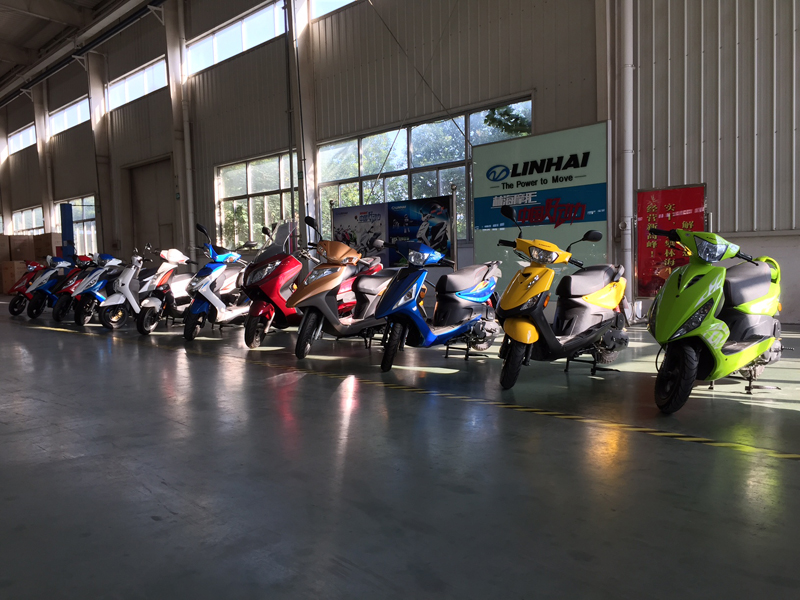 Lh scooter line